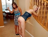 Samantha Woodley is back! Classic Discipline Program spanking for a wealthy brat